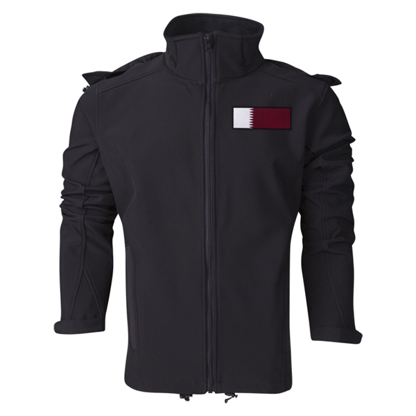 Qatar Performance Softshell Jacket (Black)