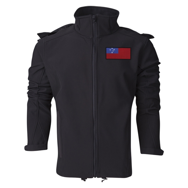 Samoa Performance Softshell Jacket (Black)