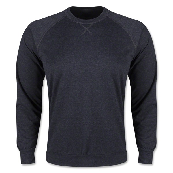 Long Sleeve Crewneck Fleece (Dark Gray)