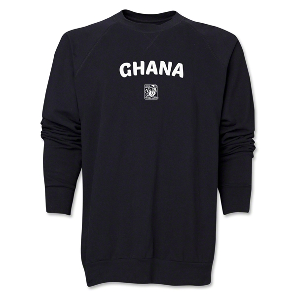 Ghana FIFA U-17 Women's World Cup Costa Rica 2014 Core Crewneck Fleece (Black)
