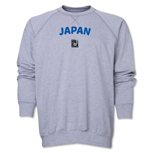 Japan FIFA U-17 Women's World Cup Costa Rica 2014 Core Crewneck Fleece (Grey)