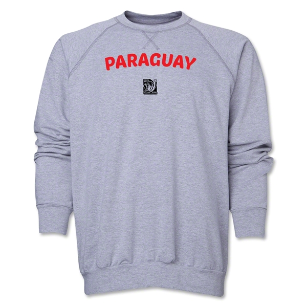 Paraguay FIFA U-17 Women's World Cup Costa Rica 2014 Core Crewneck Fleece (Grey)