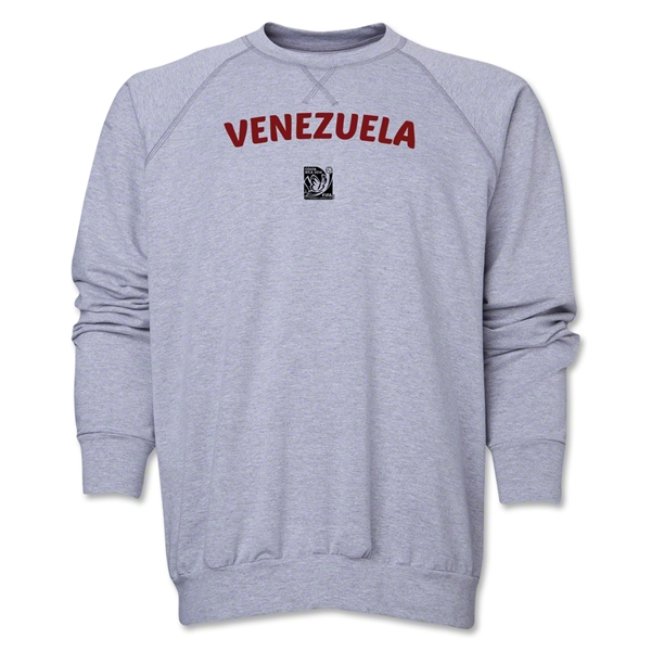 Venezuella FIFA U-17 Women's World Cup Costa Rica 2014 Core Crewneck Fleece (Grey)