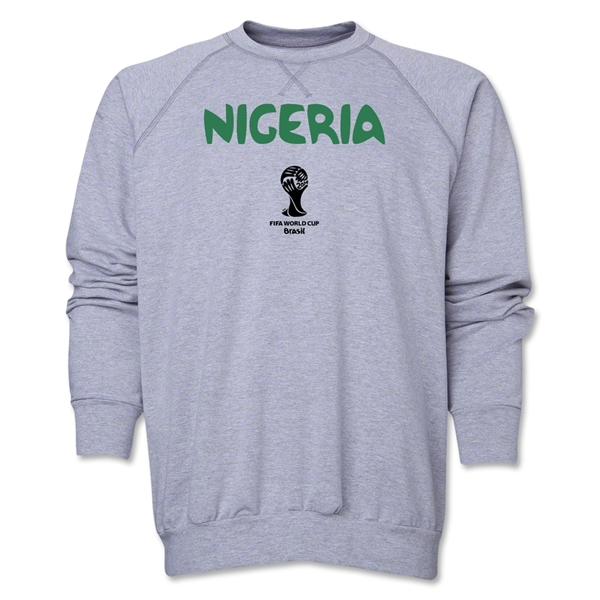 Nigeria 2014 FIFA World Cup Brazil(TM) Core Crewneck Fleece (Grey)