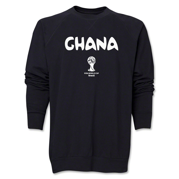 Ghana 2014 FIFA World Cup Brazil(TM) Core Crewneck Fleece (Black)