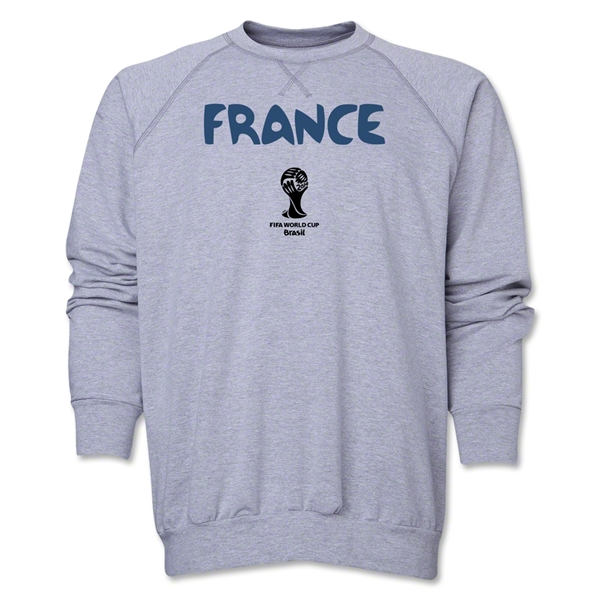 France 2014 FIFA World Cup Brazil(TM) Core Crewneck Fleece (Grey)