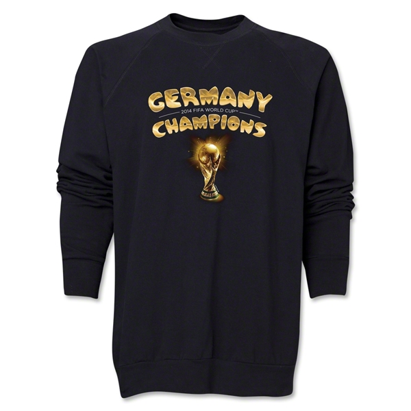 Germany 2014 FIFA World Cup Brazil(TM) Champions Trophy Crewneck Fleece (Black)