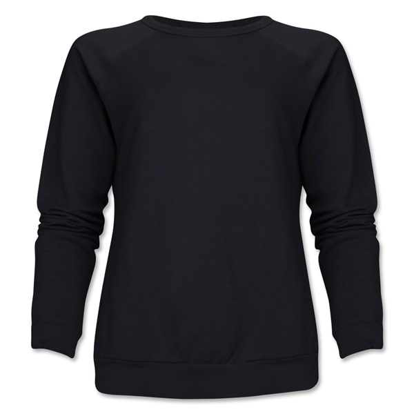 Women's Crewneck Fleece (Black)
