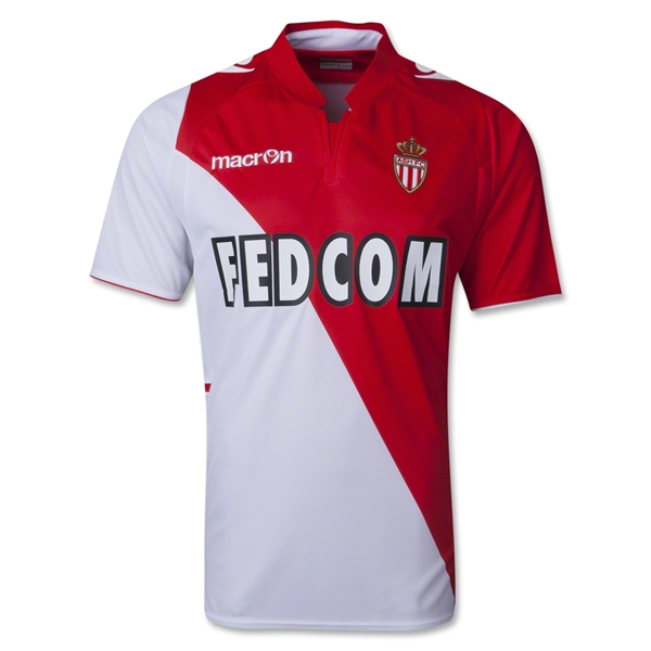 AS Monaco 13/14 Home Soccer Jersey