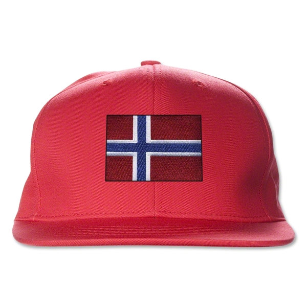 Norway Flatbill Cap (Red)
