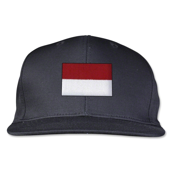 Indonesia Flatbill Cap (Black)