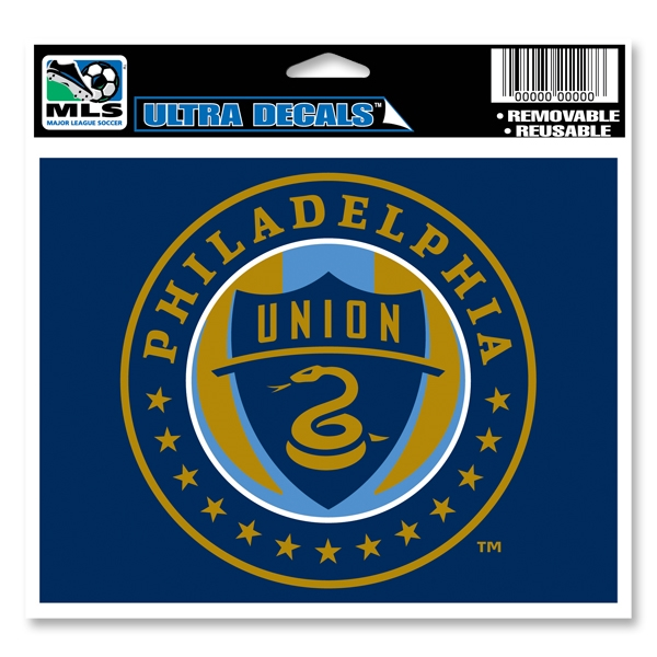 Philadelphia Union 4.5x6 Ultra Decal