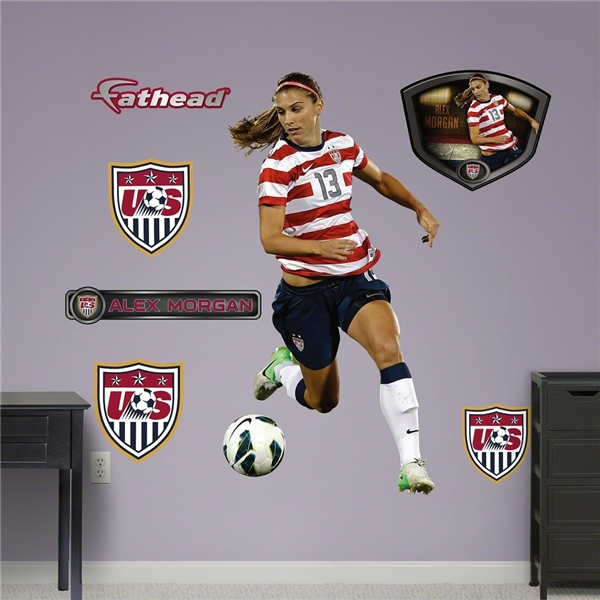 USA Morgan Ball Control Wall Fathead