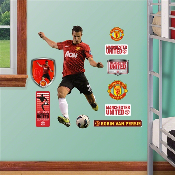 Manchester United v. Persie Junior Wall Fathead