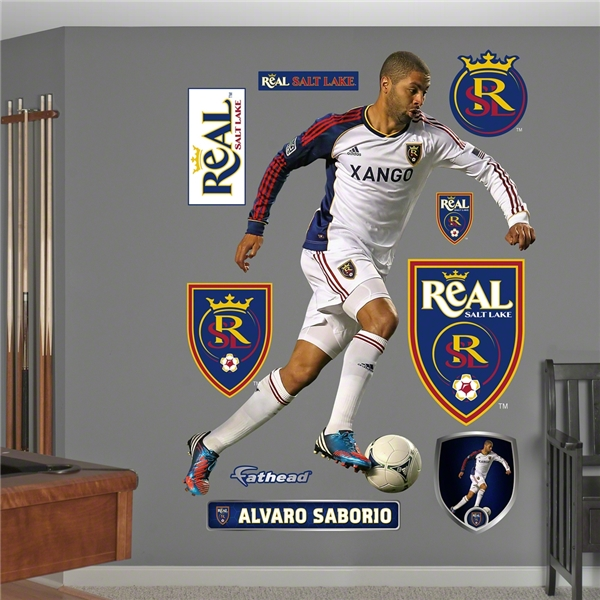 Real Salt Lake Alvaro Saborio Wall Fathead