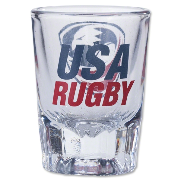 USA Rugby Shot Glass