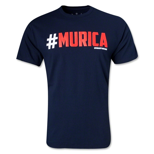 Who Are Ya #MURICA T-Shirt (Navy)