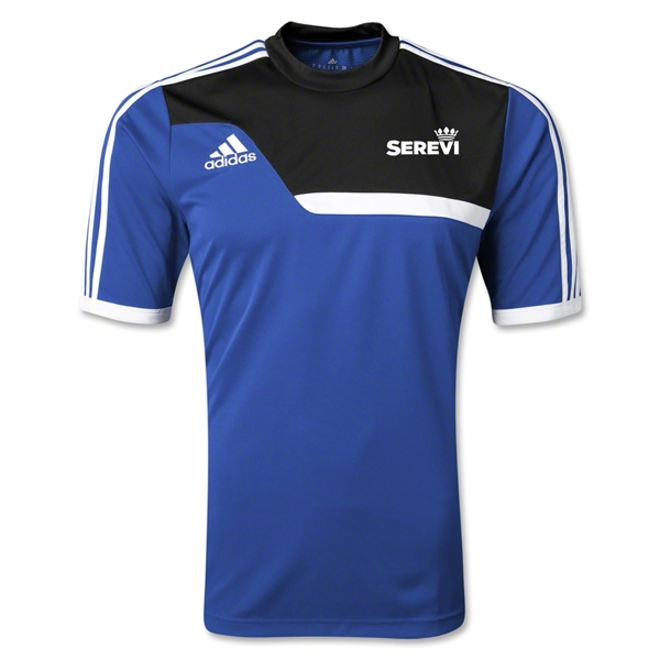 adidas Serevi Tiro 13 Training Jersey (Royal/Black)