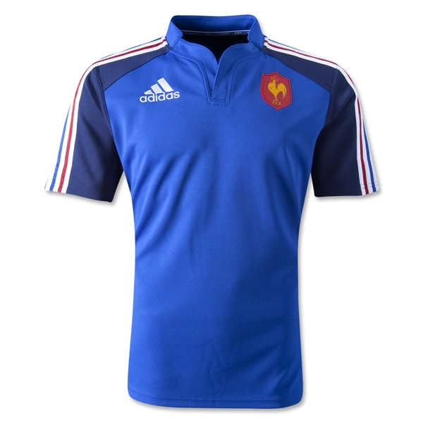 France 2014 Training Rugby Jersey