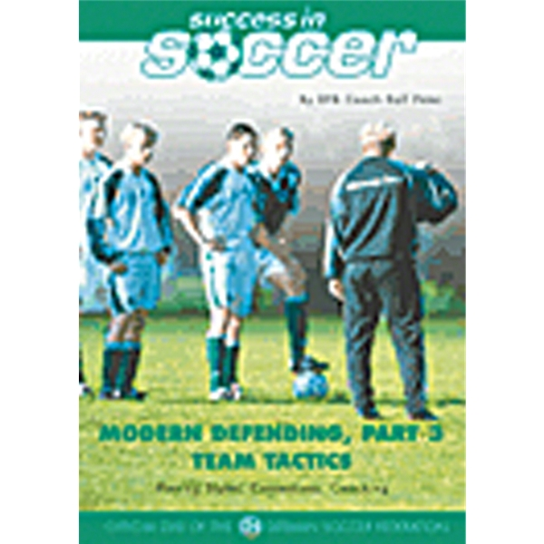 Modern Defending Part 3 Team Tactics DVD