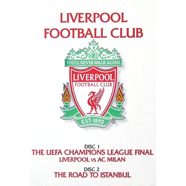 Liverpool 2005 Champions League Double DVD