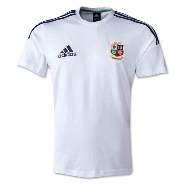 British and Irish Lions 2013 Cotton T-Shirt (White)