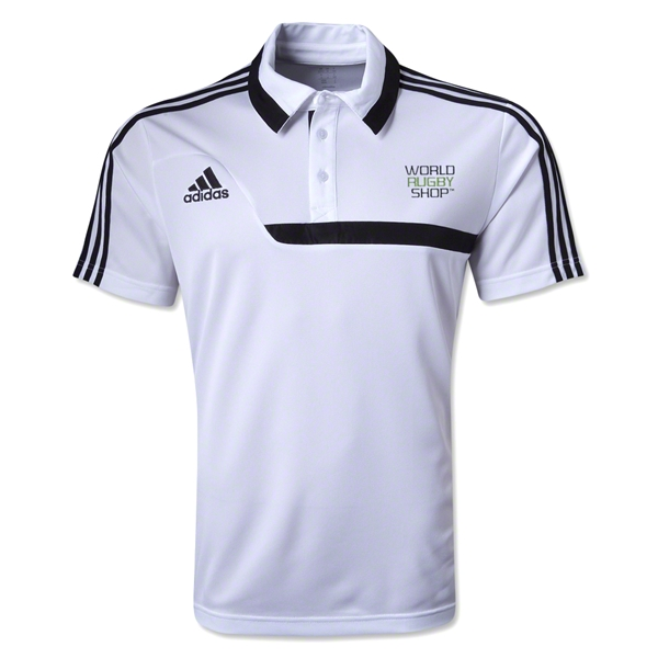 adidas World Rugby Shop Tiro 13 CL Polo (White)