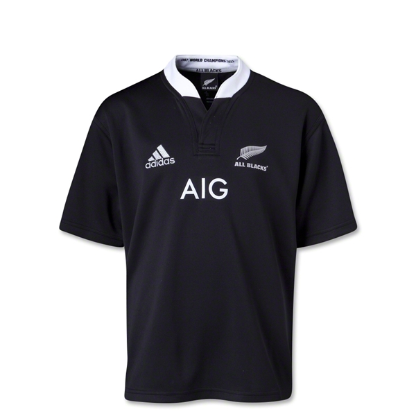 All Blacks 13/14 Youth Home Rugby Jersey