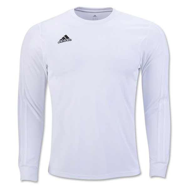 adidas Squadra 13 Long Sleeve Jersey (White)