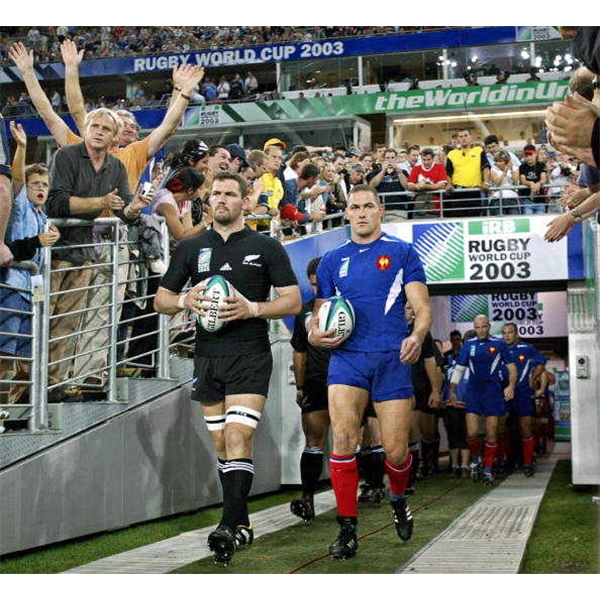 New Zealand vs France World Cup 2003 DVD