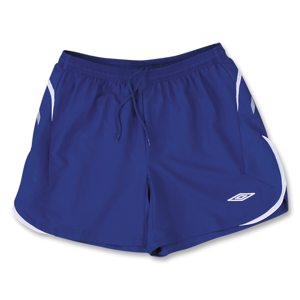 Umbro National Soccer Shorts (Roy/Wht)