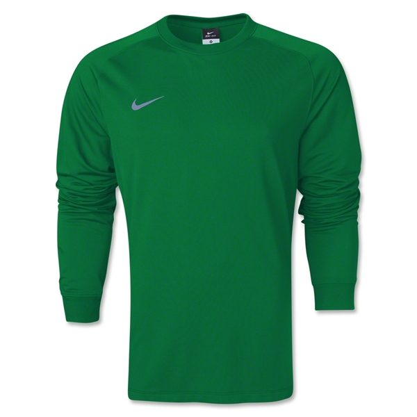 Nike Long Sleeve Park Goalie II Jersey (Green)