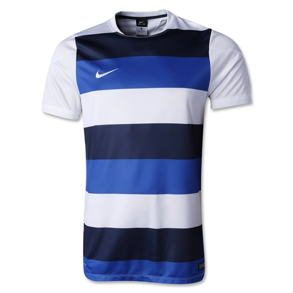 Nike Squad 14 Prematch Top (White/Royal)