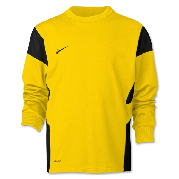 Nike Long Sleeve Academy 14 Midlayer T-Shirt (Yl/Bk)