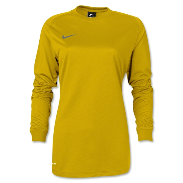 Nike Long Sleeve Women's Park Goalie II (Yellow)