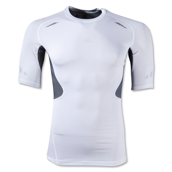 adidas TechFit Prep Top (White/Gray)