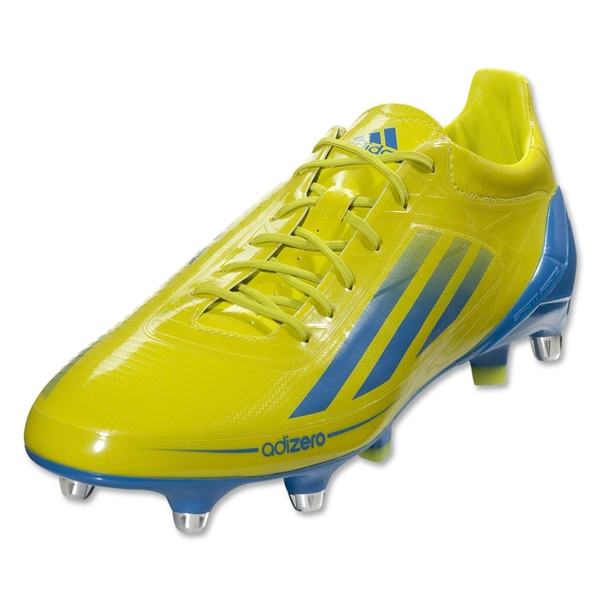 adidas Adizero RS7 Pro II XTRX SG Rugby Boot (Lab Lime/Bright Blue)
