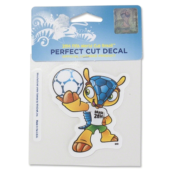 2014 FIFA World Cup Brazil(TM) Mascot Decal