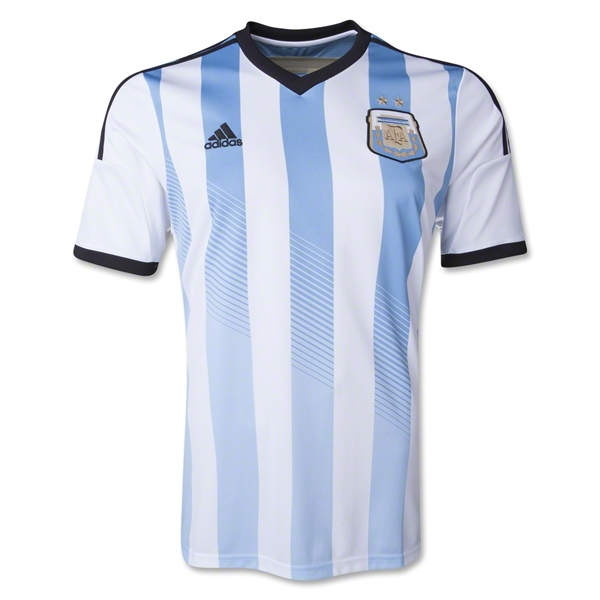Argentina 2014 Home Soccer Jersey