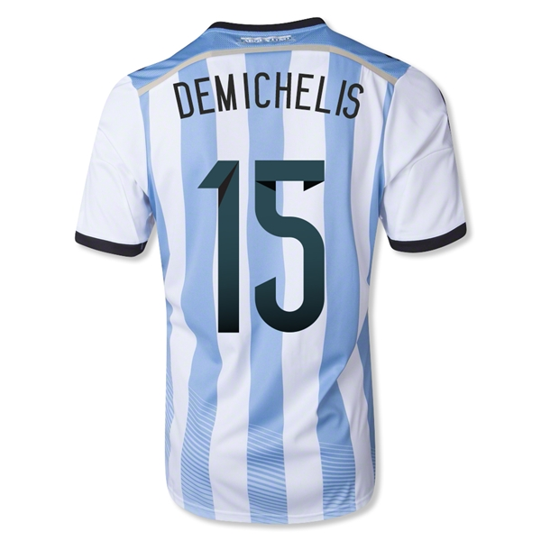 Argentina 2014 DEMICHELIS Home Soccer Jersey