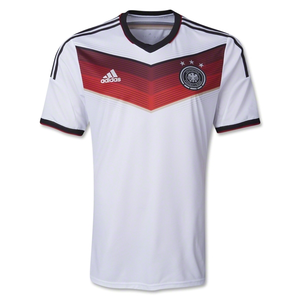 Germany 2014 Authentic Home Soccer Jersey