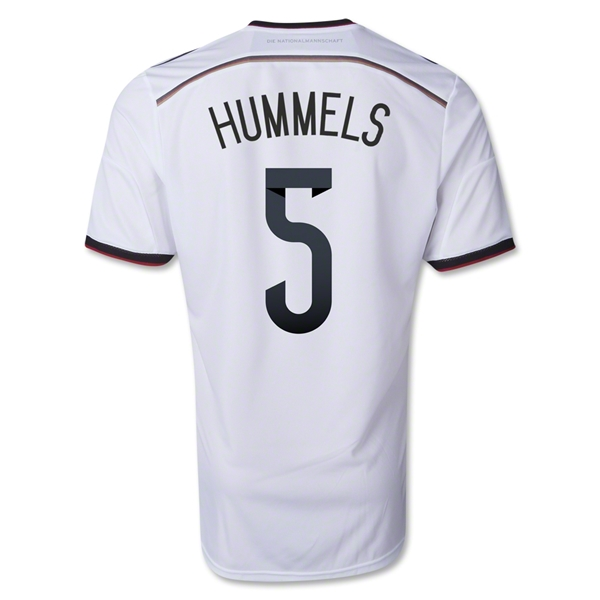 Germany 2014 HUMMELS Authentic Home Soccer Jersey