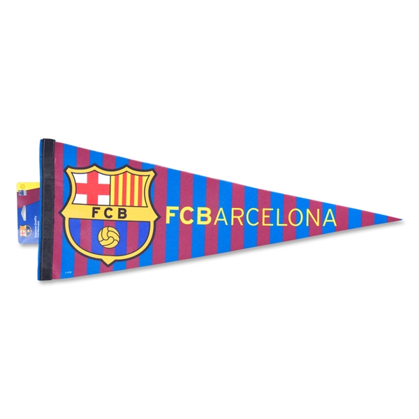 Barcelona Striped Pennant