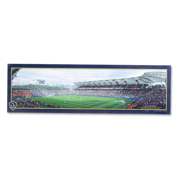 LA Galaxy Stadium Wood Sign