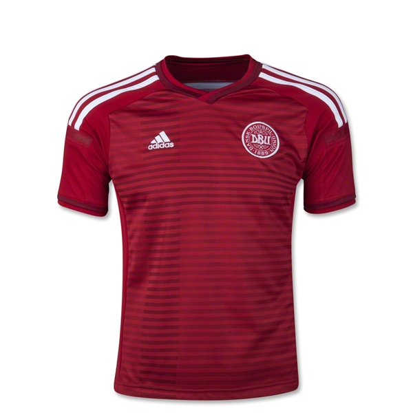 Denmark 2014 Youth Home Soccer Jersey
