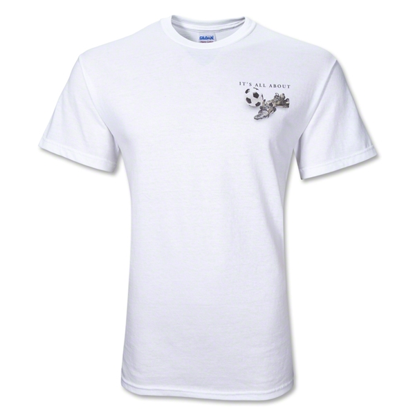 All About Soccer T-Shirt (White)