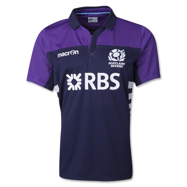 Scotland 13/14 Sevens Home SS Rugby Jersey