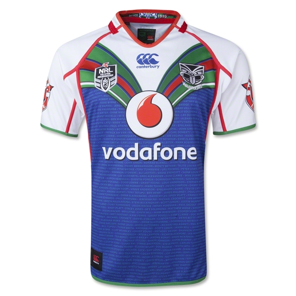 New Zealand Warriors Heritage 13/14 Rugby Jersey