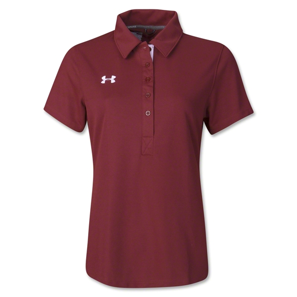 Under Armour Women's Coaches Polo II (Cardinal)