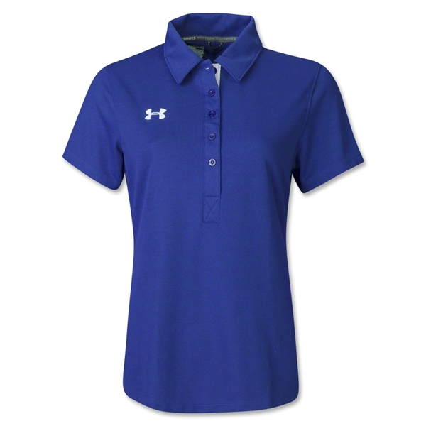 Under Armour Women's Coaches Polo II (Royal)